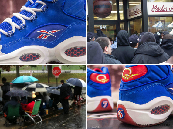 Packer Shoes x Reebok Question quot Practicequot Release Recap