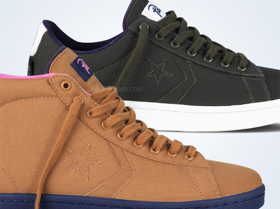 Patta x Converse First String Pro Leather Two Colorways