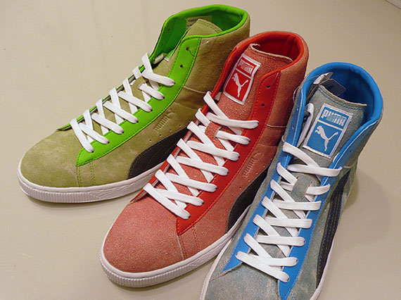 tout neuf acdca ca6f7 Puma Suede Mid