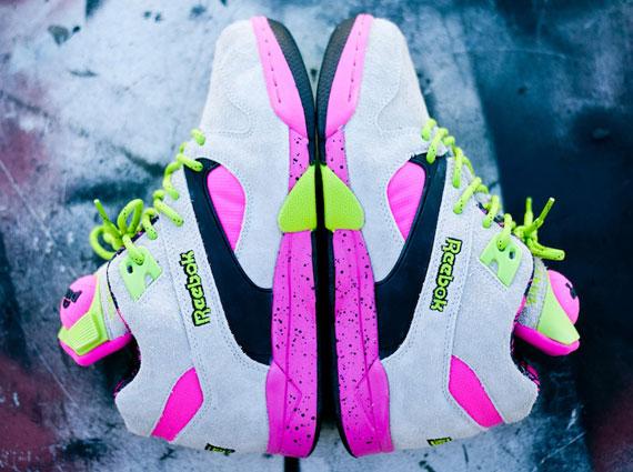 Reebok Court Victory Pump - Grey - Pink - Green - SneakerNews.com cf5cab1426d9