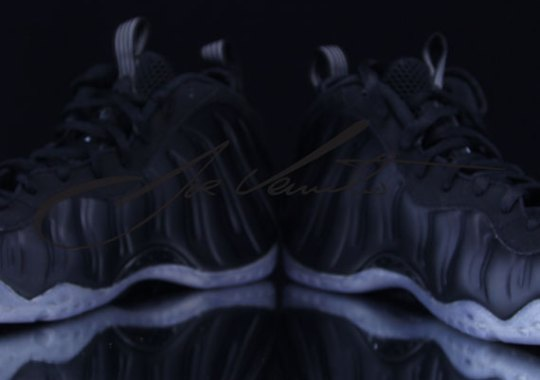 """Stealth"" Nike Air Foamposite One – Detailed Images"