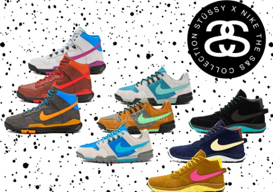 """Stussy x Nike Off Mountain System """"S&S Capsule"""" – Release Reminder"""
