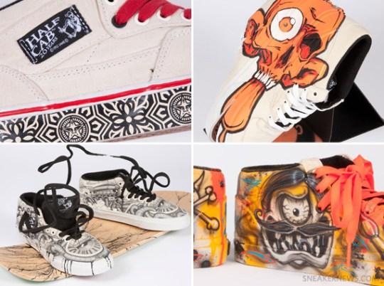 A.skate x Vans Half Cab 20th Anniversary Artist Collection