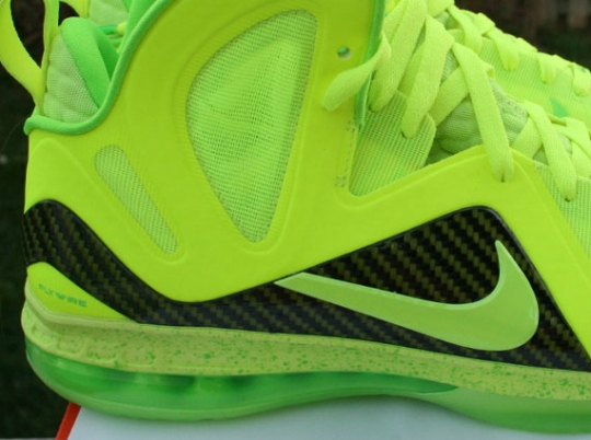 "Nike LeBron 9 Elite ""Volt Dunkman"" on eBay"