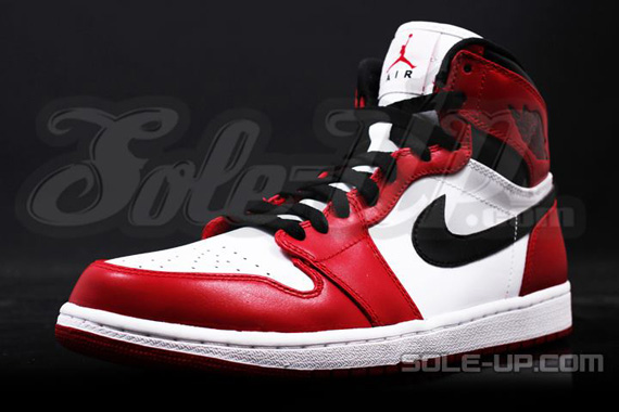 air jordan 1 red black white