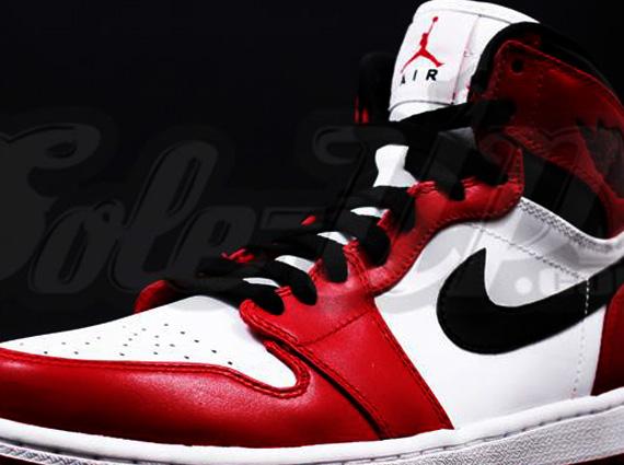 air jordan 1 red black 2013