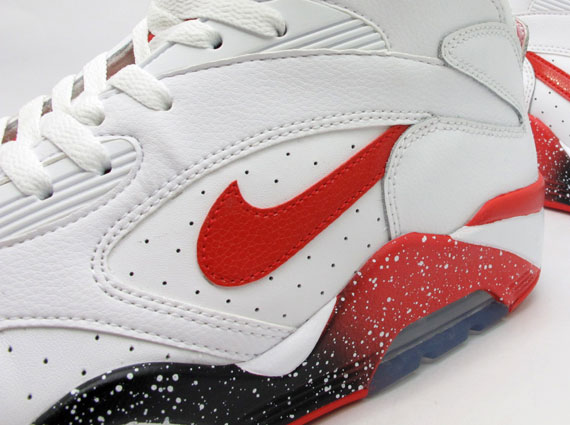 Nike Air Force 180 Mid White Hyper Red Photo Blue