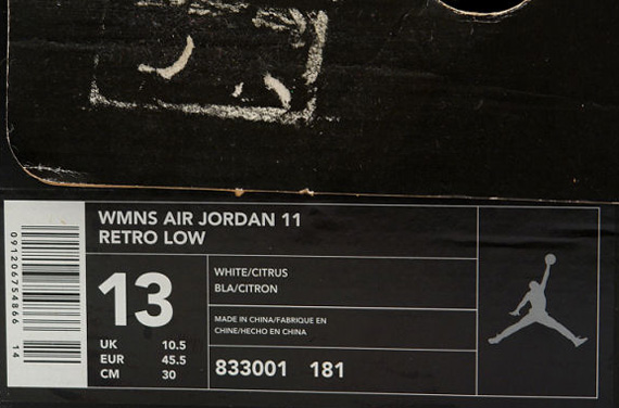 Air Jordan 11 Sitrus 2001 Chevy xDq2kPfF6