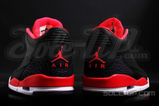 "Air Jordan III ""Bright Crimson"""