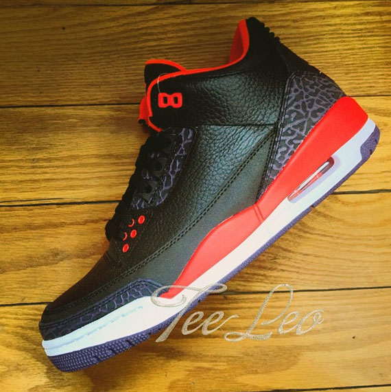 "Air Jordan III ""Bright Crimson"" - Release Date ..."