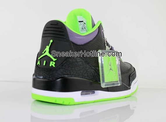 Air Jordans Purple And Black Air Jordan Iii Retro Black