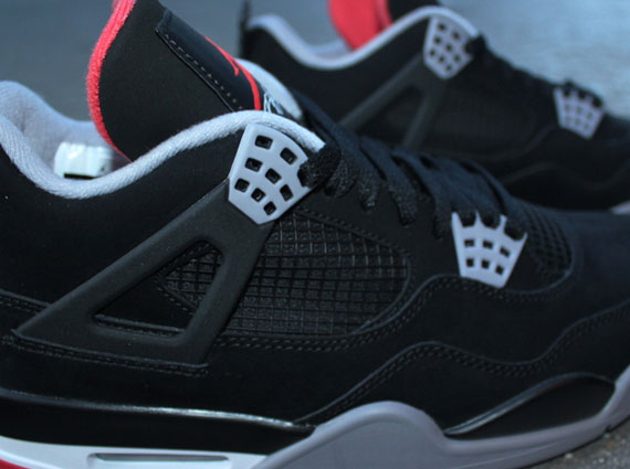 Air Jordan 4 Gris De Noir De Ciment