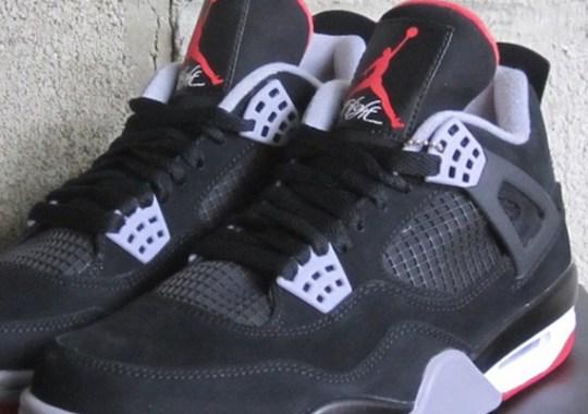 """Air Jordan IV """"Bred"""" – Release Reminder"""