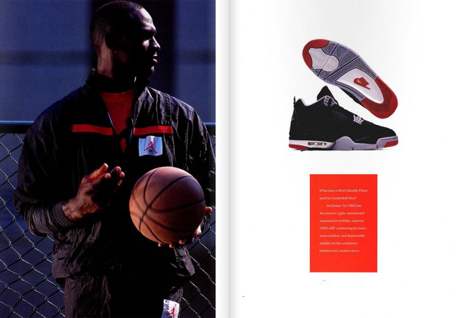 the best attitude aa7a1 86559 Air Jordan IV - Original 1989 Catalog - SneakerNews.com