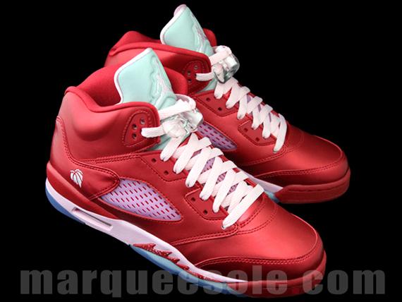 "Air Jordan V GS ""Valentines Day"" - SneakerNews"