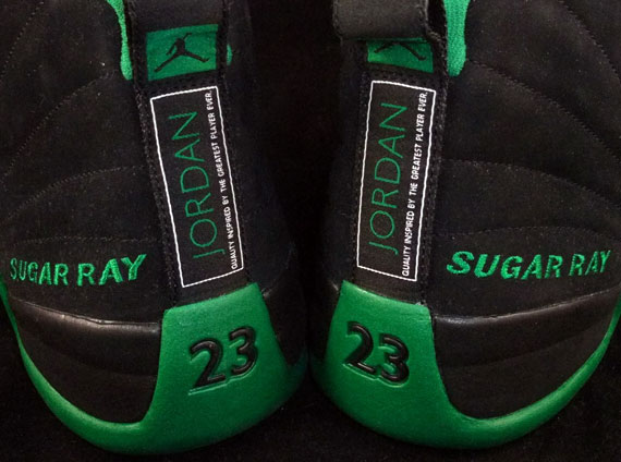 competitive price d98f3 394a6 Air Jordan XII - Ray Allen Celtics Away PE - SneakerNews.com