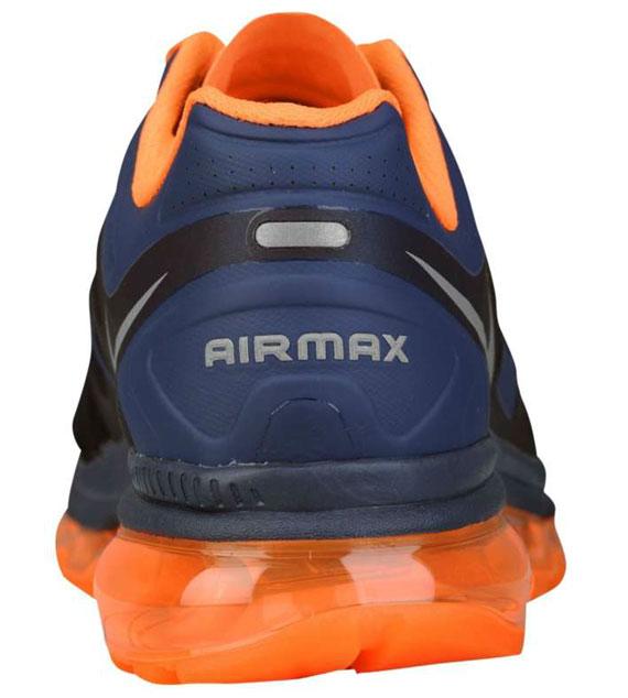 nike air max 2012 light midnight total orange