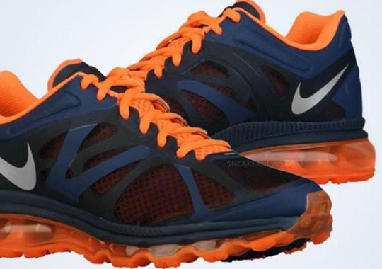 Nike Air Max+ 2012 – Light Midnight – Total Orange