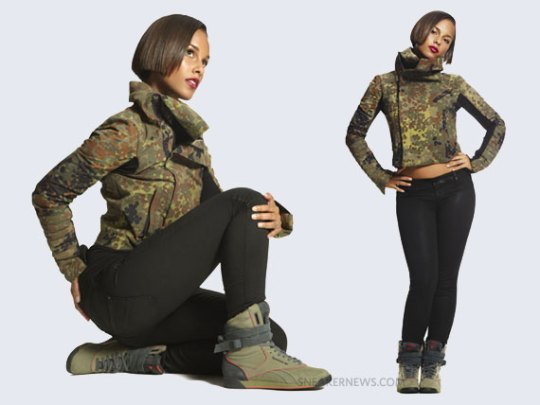 Alicia Keys x Reebok Cargo & Reptile Collections