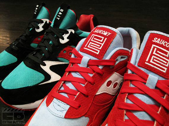 a9f44bc675 Bait x Saucony Shadow 6000 + Grid 9000 - Available - SneakerNews.com