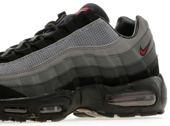 red gray and black air max 95
