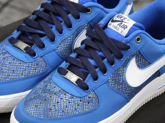 Nike Air Force 1 Low - Blue Snakeskin