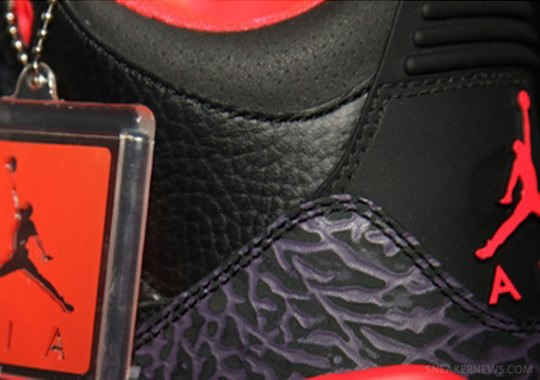 """Bright Crimson"" Air Jordan III Retro"