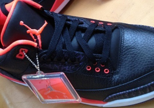 "Air Jordan III ""Bright Crimson"" – Available Early on eBay"