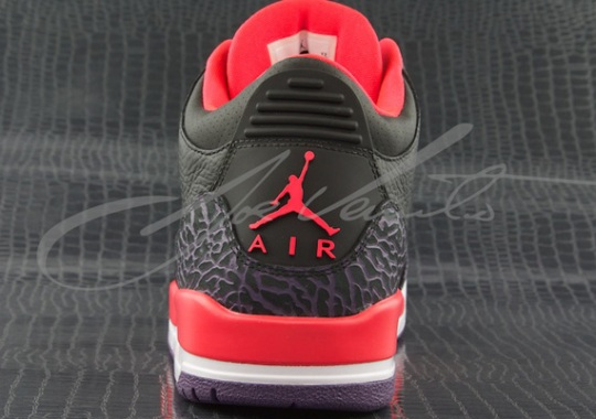 """Bright Crimson"" Air Jordan 3 Retro"