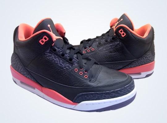 """Bright Crimson"" Air Jordan III"