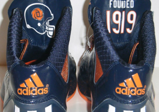 18935a64aec7 adidas Rose 3  Chicago Bears  - SneakerNews.com