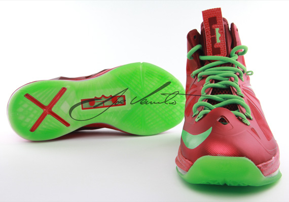 \u0026quot;Christmas\u0026quot; Nike LeBron 10 - SneakerNews.com