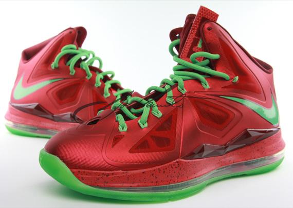Lebron Christmas Edition.Nike Lebron 10 Xmas