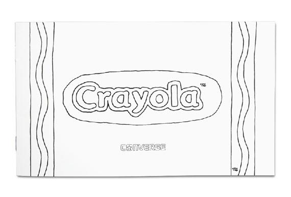 crayon label template - crayola x converse chuck taylor all star