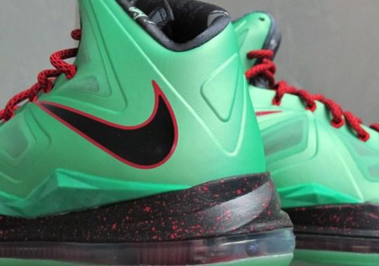"pretty nice 4e279 eec38 Nike LeBron X ""Jade"" – Release Reminder"