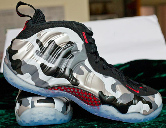 Nike Air Foamposite One Black GoldRed For Sale? Scelf