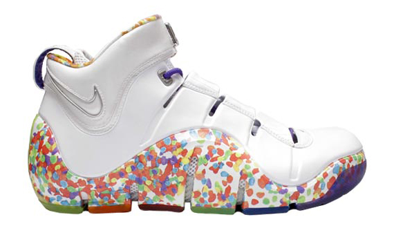 Nike Zoom LeBron IV  Fruity