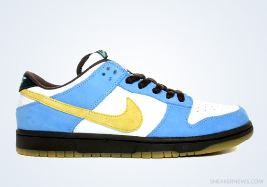 "Classics Revisited: Nike SB Dunk Low ""Homer"" (2004)"