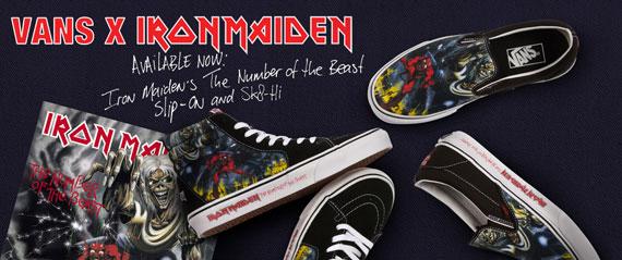 5d01b4afce Iron Maiden x Vans