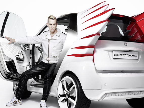 Jeremy Scott X Smart Fortwo Forjeremy Concept Car Sneakernews