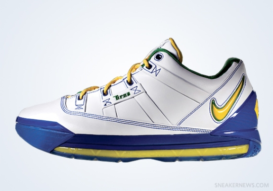 """Classics Revisited: Nike Zoom LeBron III Low """"Sprite"""" (2006)"""