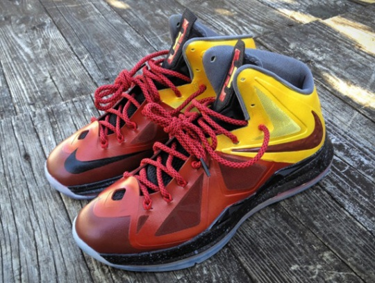 "Nike LeBron X ""Chamber Of Fear – Haters"" Customs by Mache"