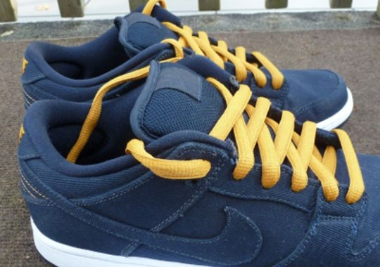 Levis x Nike SB Dunk Low – Unreleased Sample