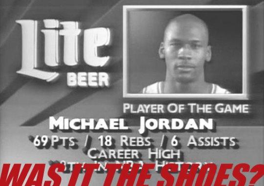 Michael Jordan Scores Career High 69 Points