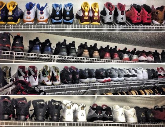 Nate Robinson Shows Off Air Jordan and Air Penny Collection