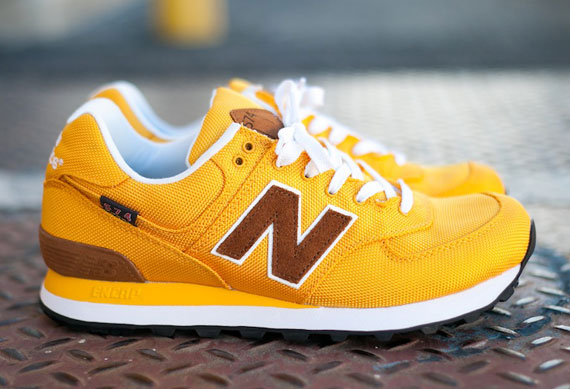 yellow new balance 574