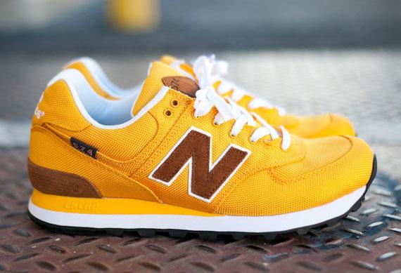 yellow new balance 574