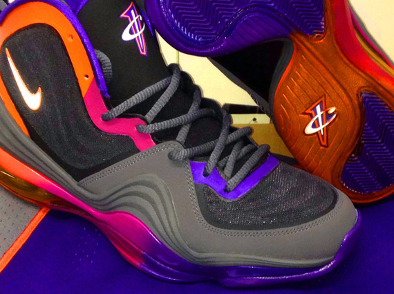 "Nike Air Penny V Suns ""Gradient Outsole"" Customs by Sole Swap 5da544c80b2e"