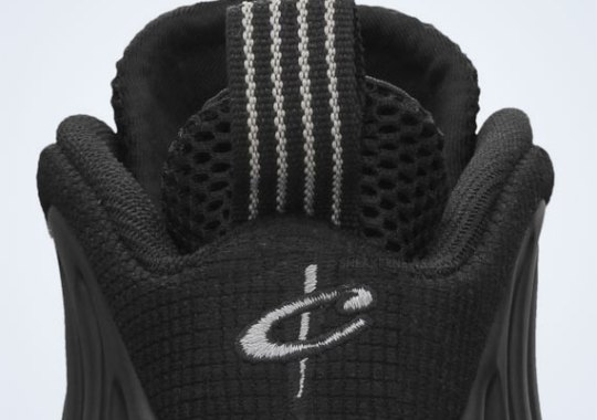 Nike Air Foamposite One – Black – Medium Grey