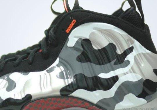 e3a2b305189 Nike Air Foamposite One  White Camo  - SneakerNews.com
